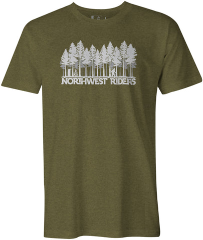 Sasquatch T-Shirt Military Heather