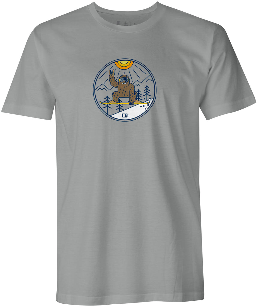 Shred Squatch Bigfoot T-shirt