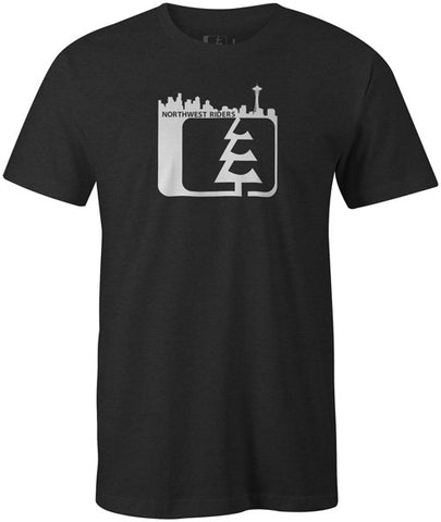 Skyline T-Shirt Charcoal Heather