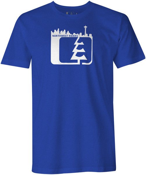 Skyline T-Shirt Royal Heather