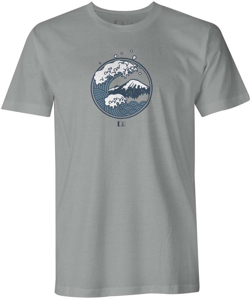 Tsunami T-shirt  (DTG: Delayed Ship)