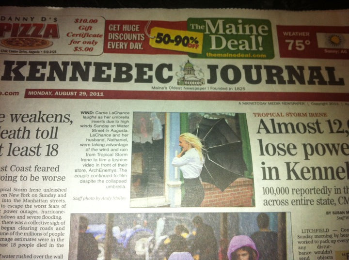 Kennebec Journal - Carrie LaChance