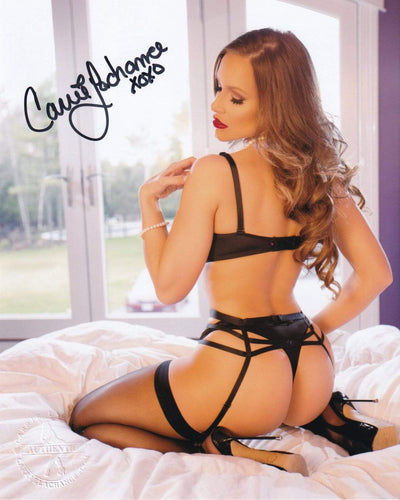 Carrie LaChance Autographed Photo-Autographed Photos-Carrie LaChance
