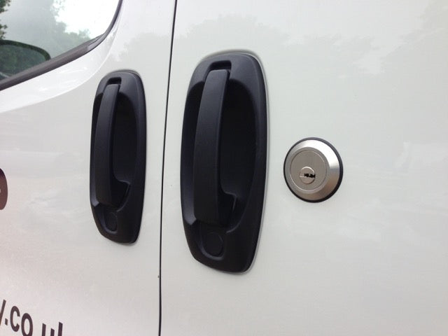 Citroen Nemo sliding door slamlock
