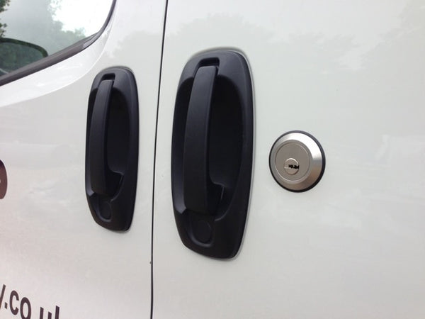 Fiat Fiorino side door slamlock