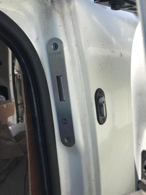 Fiat Fiorino side door deadlock
