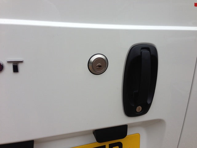 Citroen Nemo rear door slamlock