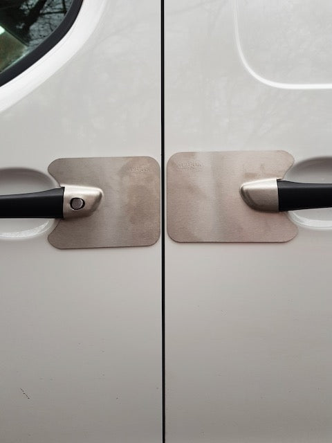 Expert - Dispatch - Proace 17 - Vivaro 19 drivers sliding door blank Armaplate