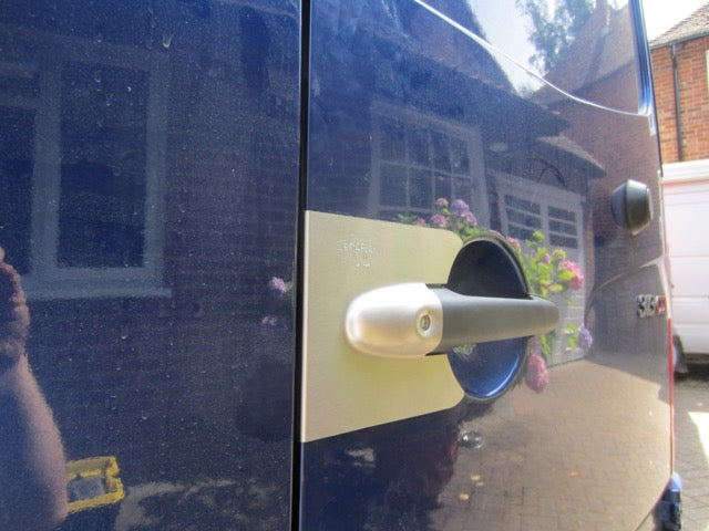 Sprinter twin rear door Armaplate