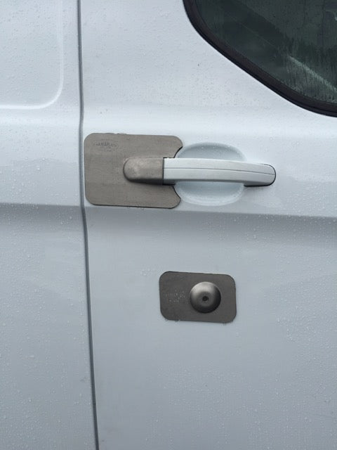 Custom 13 drivers door lock Armaplate