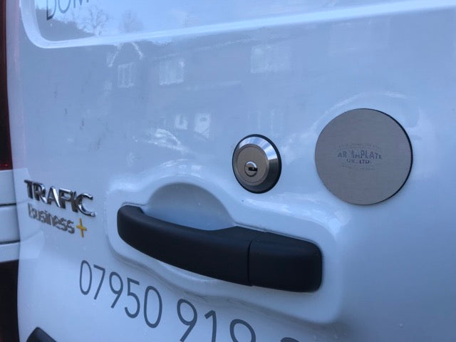 Vauxhall Vivaro 2014 Blockade Latch Shield
