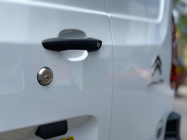 Berlingo 2018 rear door slamlock