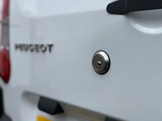 Citroen Berlingo twin rear door slamlock