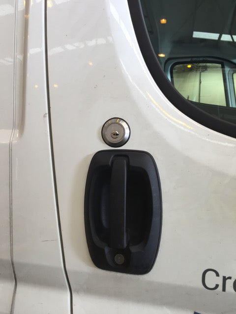 Citroen Relay cab door slamlock