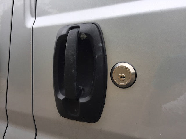 Citroen Relay sliding door slamlock