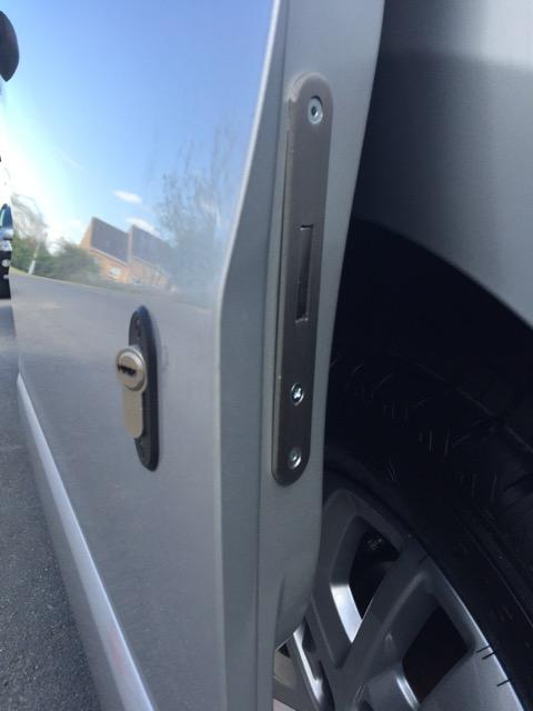 Fiat Talento glazed sliding door deadlock