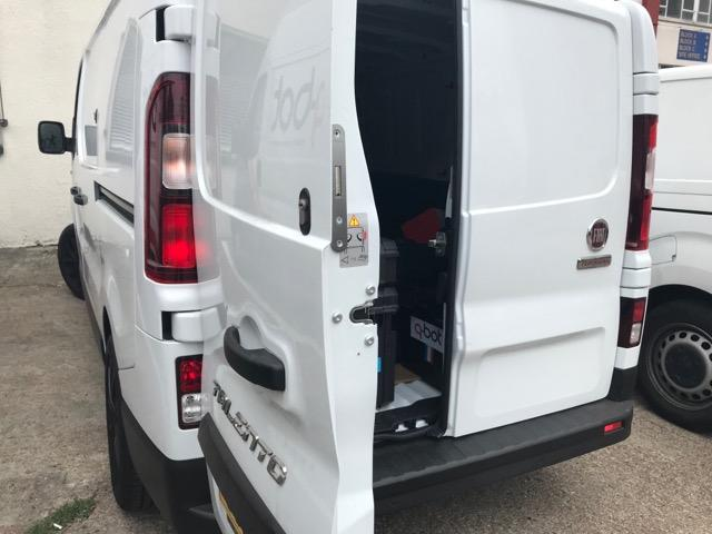 Fiat Talento rear door deadlock