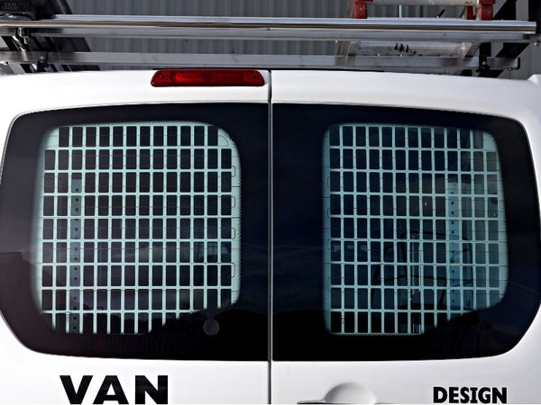 Fiat Doblo 2010-Current Window Grilles & Blanks