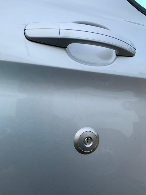 Ford Transit Custom high security replacement lock