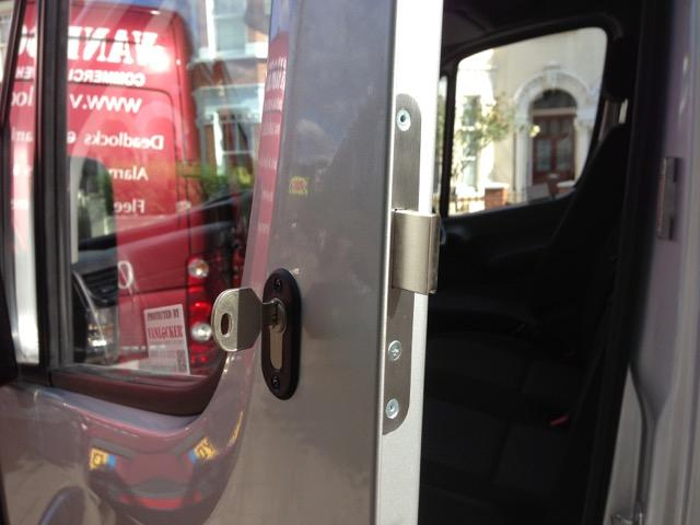 Mercedes Sprinter cab door deadlock