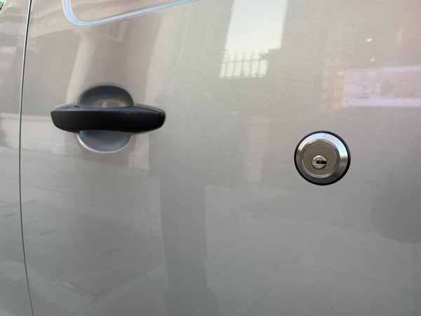 New Toyota Proace sliding door slamlock