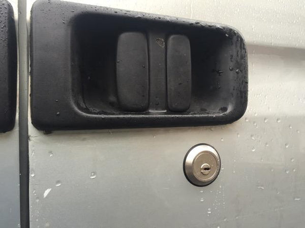 Nissan Interstar sliding door slamlock
