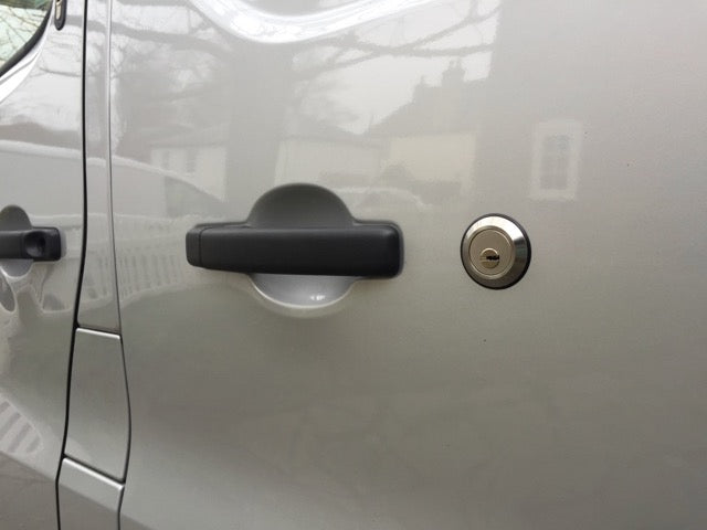 Nissan NV300 sliding door slamlock