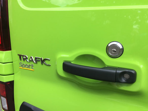 New Renault Trafic rear door slamlock