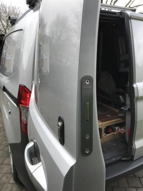 Transit Courier rear door deadlock
