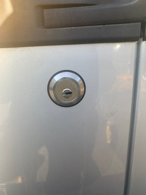 Vauxhall Combo 2012 rear door slamlock