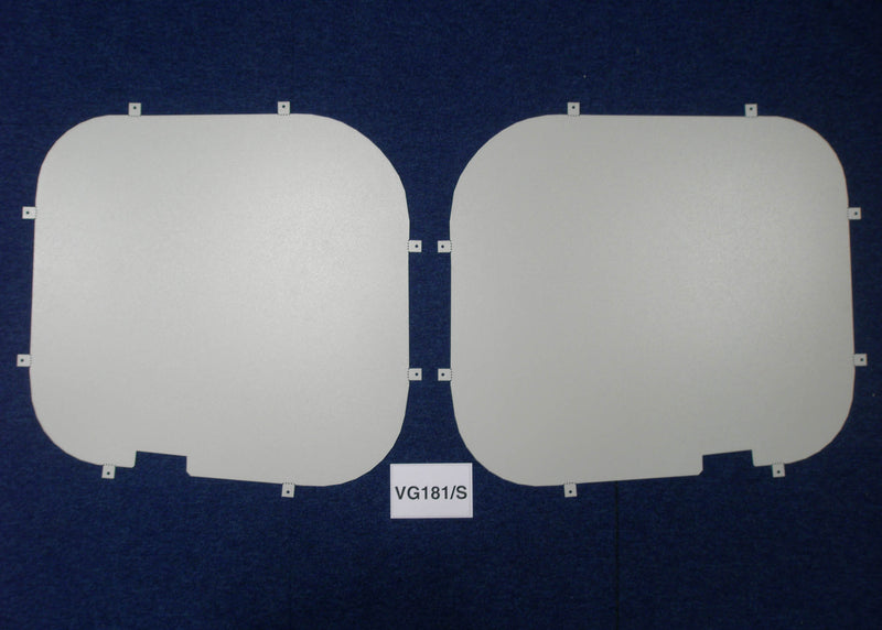 Renault Trafic 2001 - 2014 Rear Window Grilles & Blanks