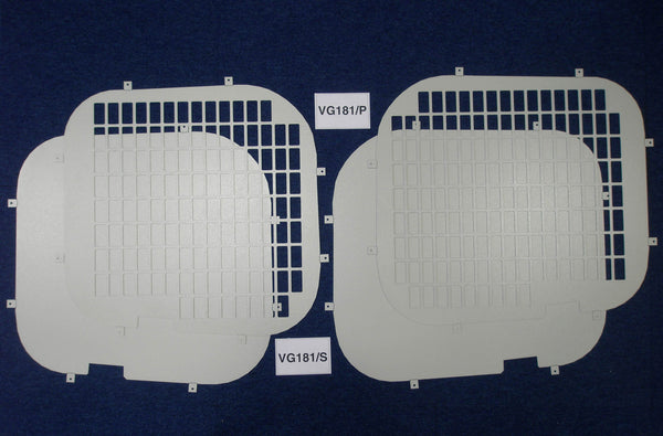 Rear Window Grilles & Blanks for Nissan Primastar