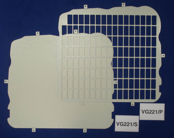 Mercedes Vito 2004 - Current Window Grilles & Blanks
