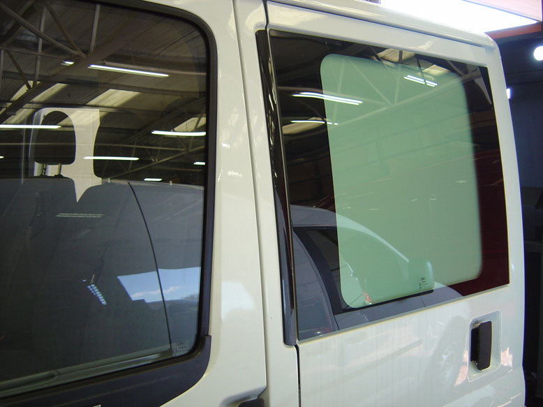Ford Transit 2000-2014 Side Window Grilles & Blanks for Chassis Double-cab