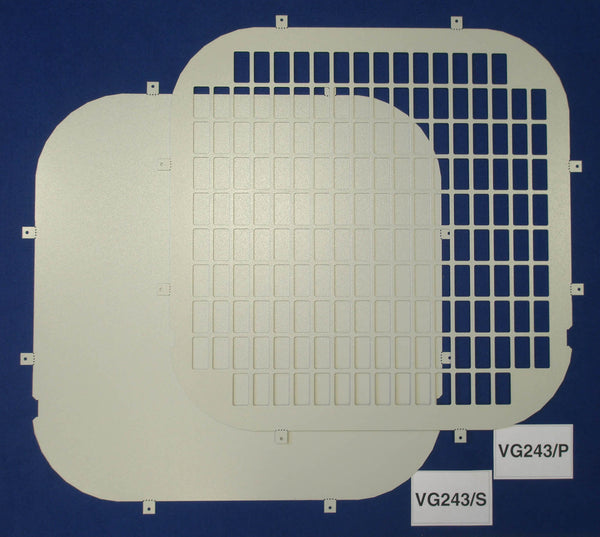 Fiat Ducato 2006 - Current Rear Window Grilles & Blanks