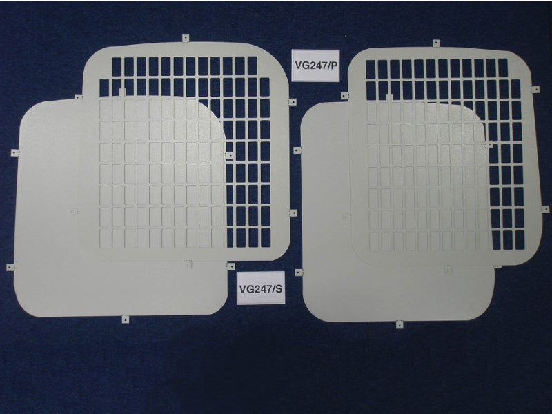 Citroen Dispatch 2007-Current Rear Window Grilles & Blanks