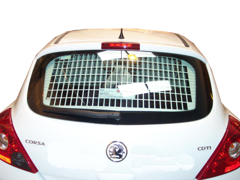 Vauxhall Corsa 2007 - 2015 Tailgate Window Grilles & Blanks