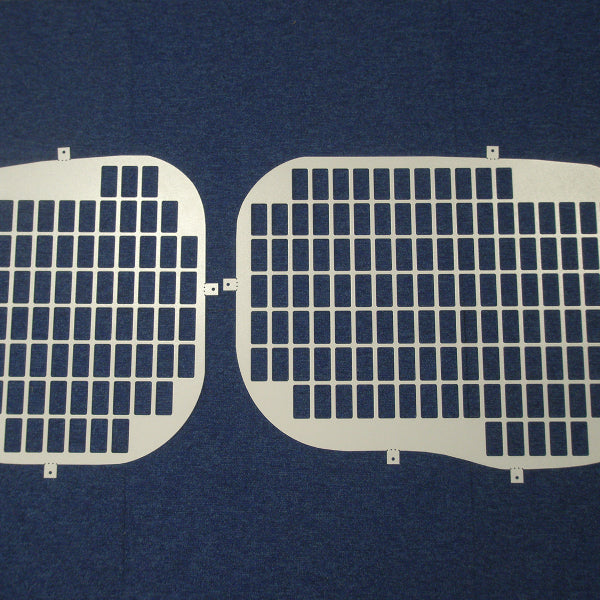 Van Guard Tailored Fit Rear Window Security Grille for Ford Transit Courier