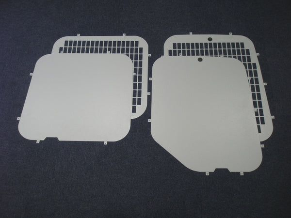 Vauxhall Movano 2010 - Current Rear Window Grilles & Blanks