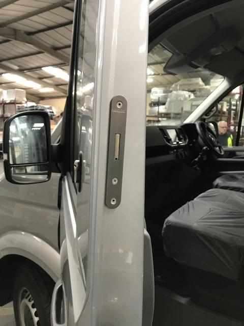 New VW Crafter cab door deadlock