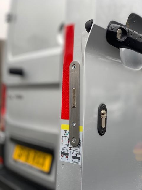 NEW VW Crafter 2017 rear door deadlock