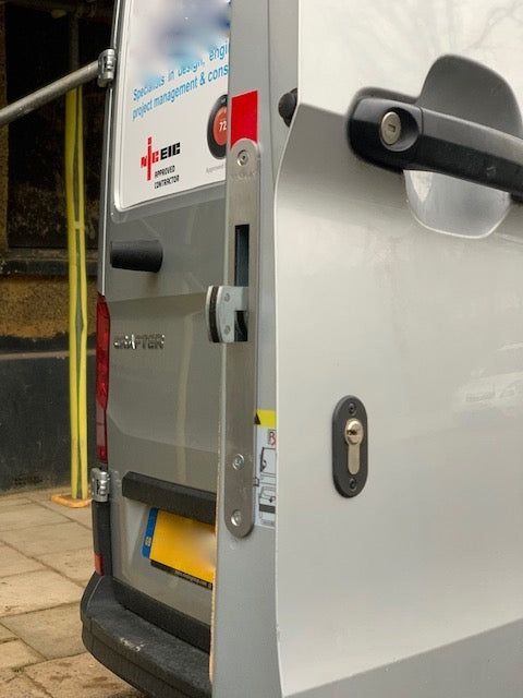New VW Crafter rear door Pro Hooklock