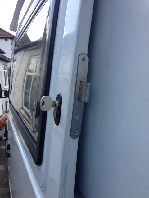 VW LT sliding door deadlock