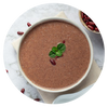 1 cup of Red bean soup contains 8 teaspoons of sugar