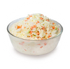 1 cup of Coleslaw contains 4 teaspoons of sugar