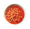 half cup of Canned baked bean contains 2 teaspoons of sugar
