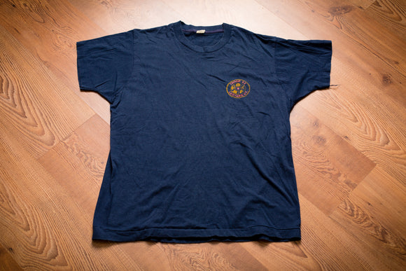80s Boy Scouts Troop 42 Ledyard CT T-Shirt, M, Vintage Tee, Connecticut, BSA