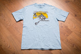 90s Plymouth Copters Ltd T-Shirt, S/M, Vintage Tee, Helicopter, Chopper, Aviation