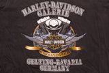 2000 Harley-Davidson Germany V2 Engine T-Shirt, M, V-Twin Motorcycles, Biker