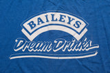 80s Baileys Dream Drinks T-Shirt, M, Vintage Tee, Irish Cream Whiskey, Liquor